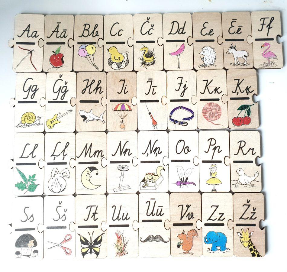 Burtu puzle