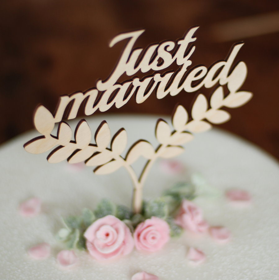 Kūkas dekors - Just married