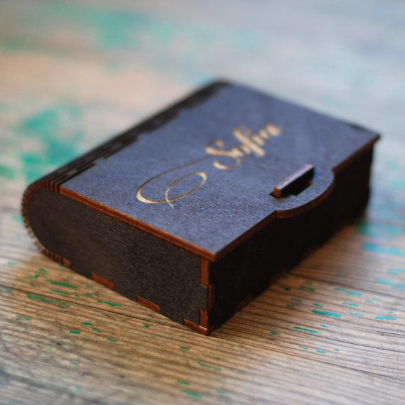 Dāvanu kastītes ar gravējumu - mazās