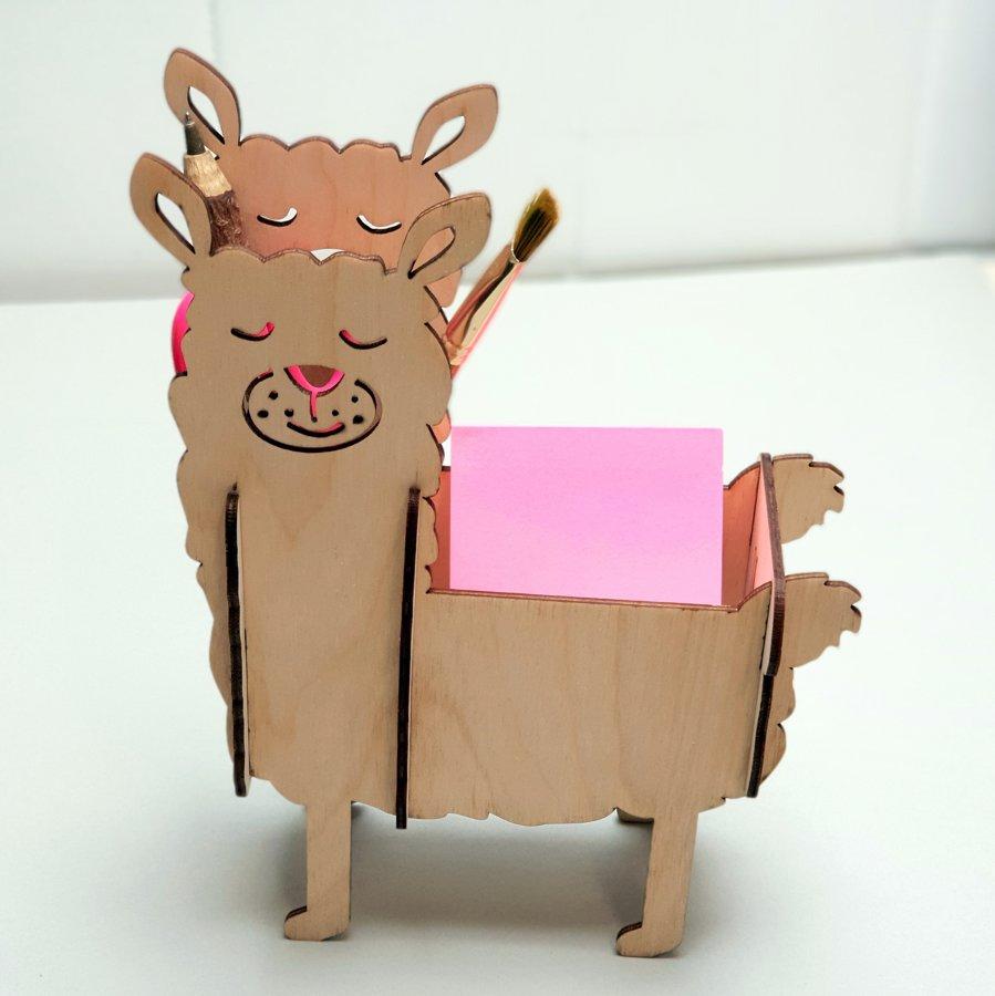 Zīmuļu turētājs / galda organizators - Lama.