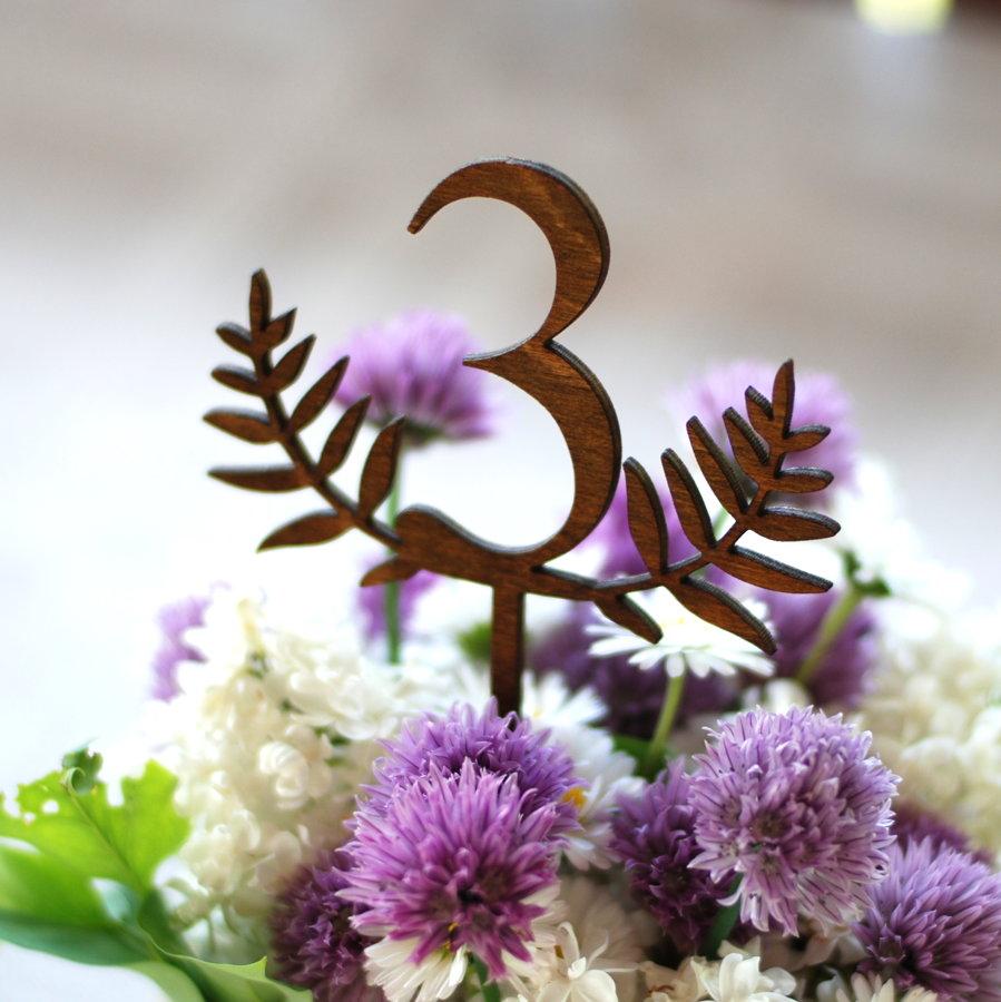 Galdu numuri ar cipariem - dekoratīvi