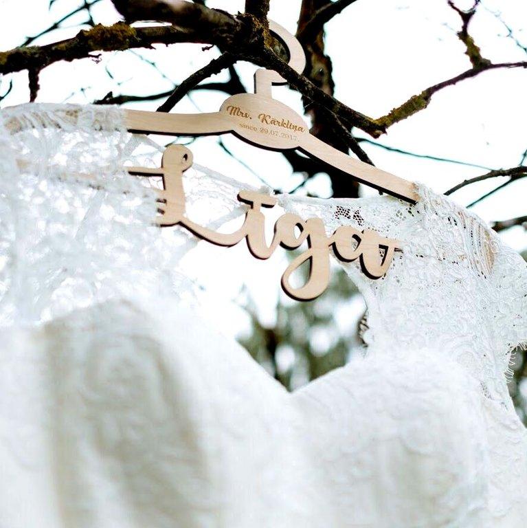 Pakaramie līgavu kleitām