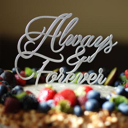 Kūkas dekors - Always and Forever