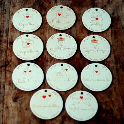 Wedding tags